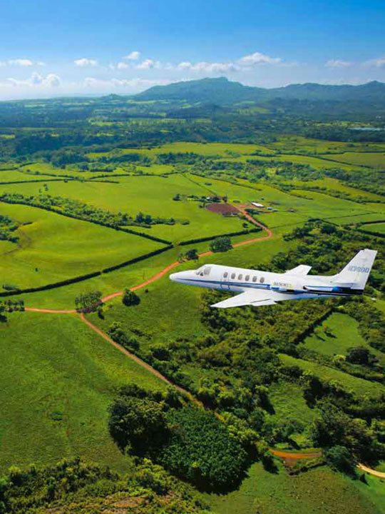Private Charter Flights to Hawaii Airports