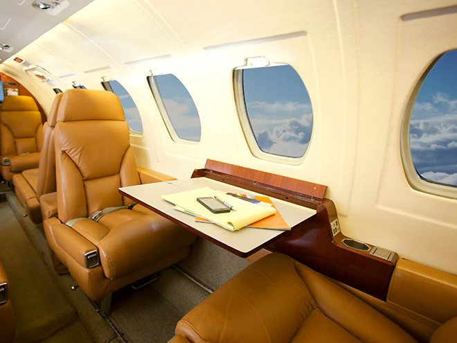 Private Jet Seating Cessna Citation II